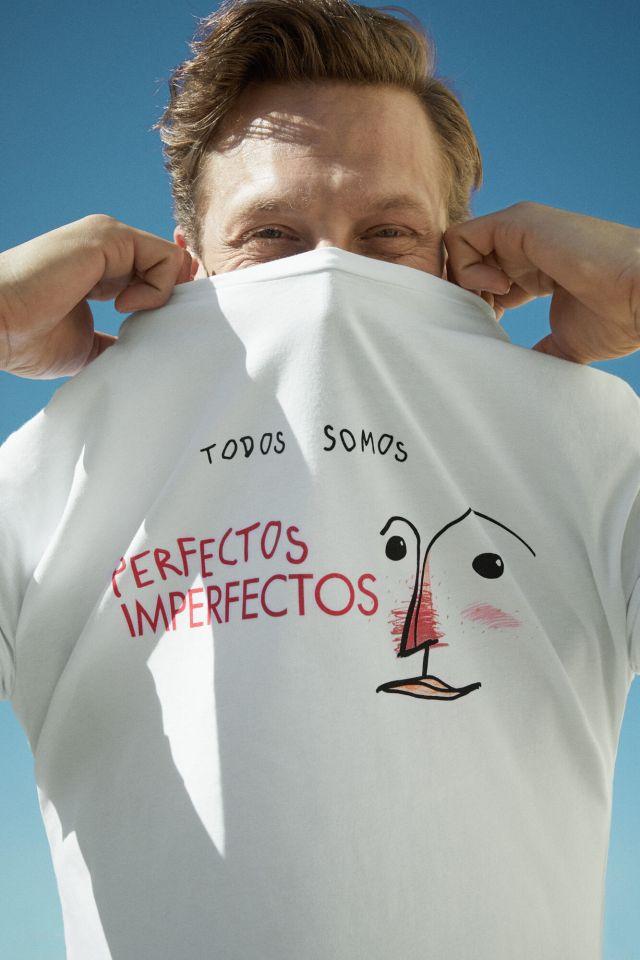 Cortefiel Camiseta manga corta Blanco