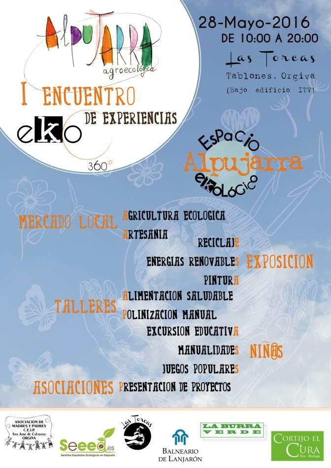 I encuentro de Experiencias EKO - Alpujarra Agroecológica 2016