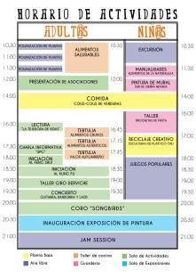 Horario I encuentro de Experiencias EKO - Alpujarra Agroecológica 2016