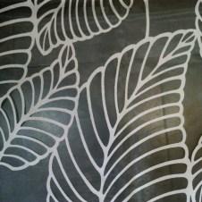 Telas para visillos con dibujos calados blancas 2