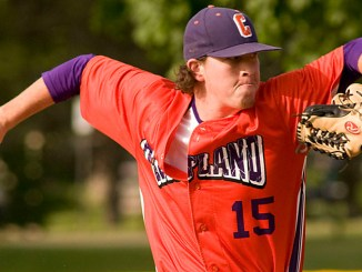 Shae Edmonds has posted a 4-2 record in his second season pitching for the Cortland Crush.