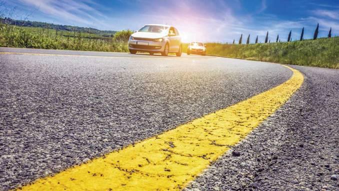 Car Road Trip Stock Image