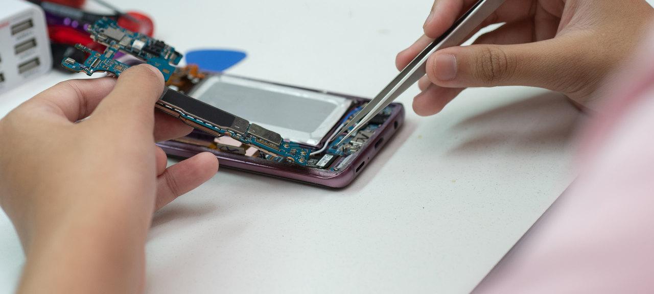 curso conserto de celular alan cell com reparo de placas