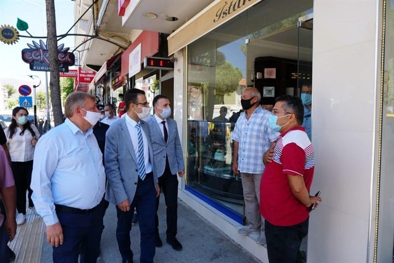 Osmancık'ta koronavirüs denetimi