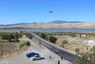 Çorum'da helikopter ile havadan trafik denetimi yapıldı