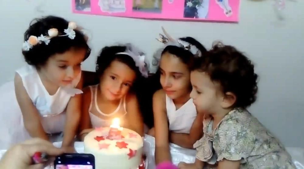 Depremde ölen babaanne ve 4 torunundan geriye doğum günü görüntüsü kaldı