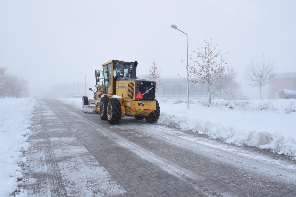 Çorum'da 591 köy yolu ulaşıma kapandı