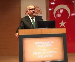 """AK Parti Çorum İl Başkanı Yusuf Ahlatcı: """"Bu millete parmak sallamak hiç kimsenin haddine değildir"""""""
