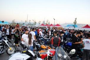 Çorum'da düzenlenen motosiklet festivali renkli görüntülere sahne oldu