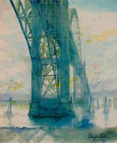 Doyle Leek - Watercolor