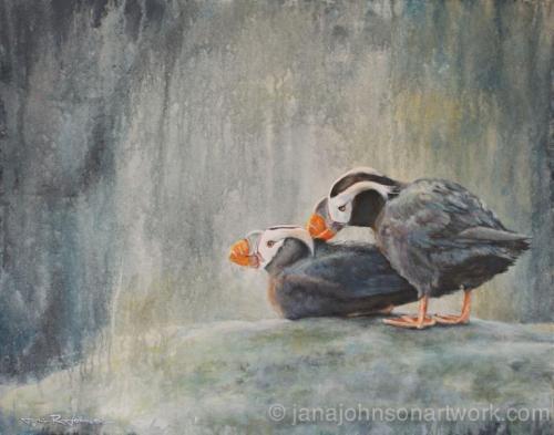 Jana Johnson - Watercolor, acrylic, oil, pastel, printmaking & mixed media