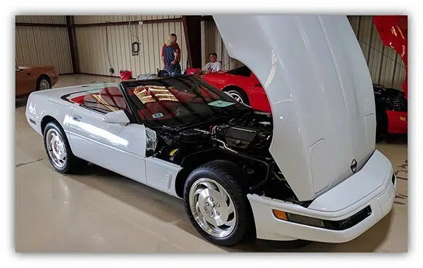 Ed's Corvette pal, Jack Exter, told him about the National Corvette Restorers Society (NCRS), and that the NCSR Florida Winter Regional Meet in Kissimmee, Florida and was to be held in January 2012.