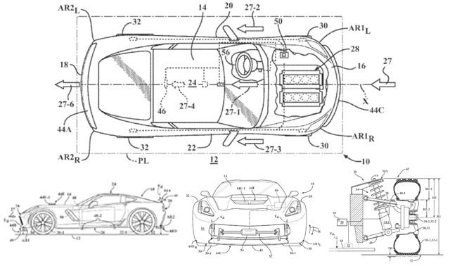 it looks like future corvettes may be getting active aerodynamics