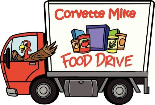 Corvette Mike Food Drive 2017