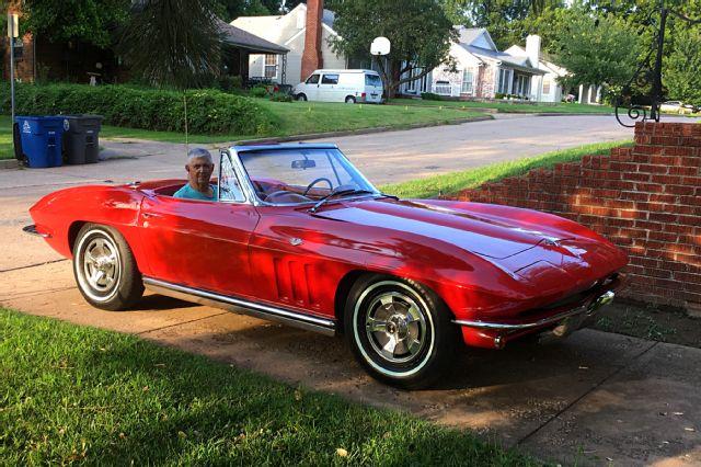 09 1965 corvette convertible rare finds brock