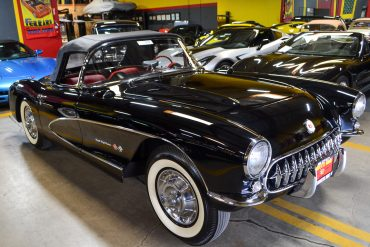 1957 black corvette fuelie 9
