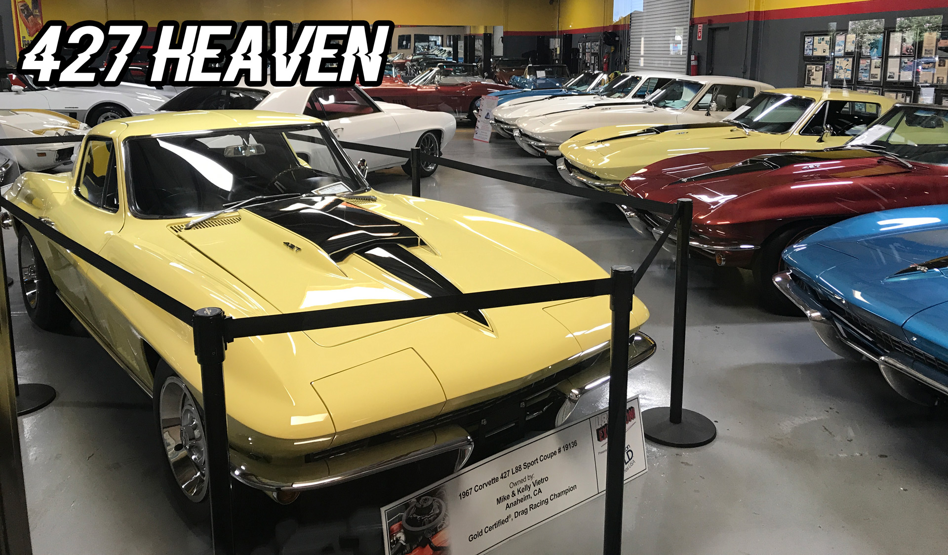 2018 bloomington gold 1967 corvette 427 l88 sport coupe