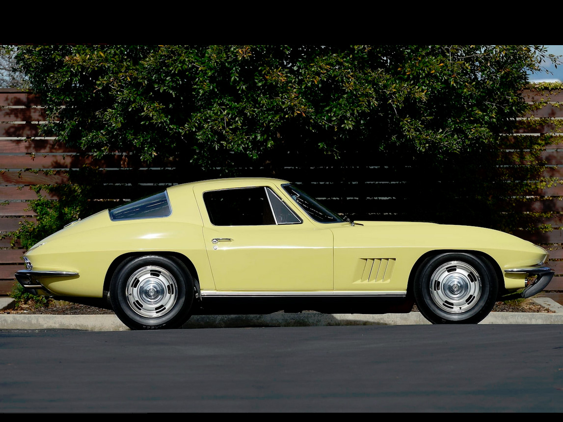 1967 yellow corvette l88 2