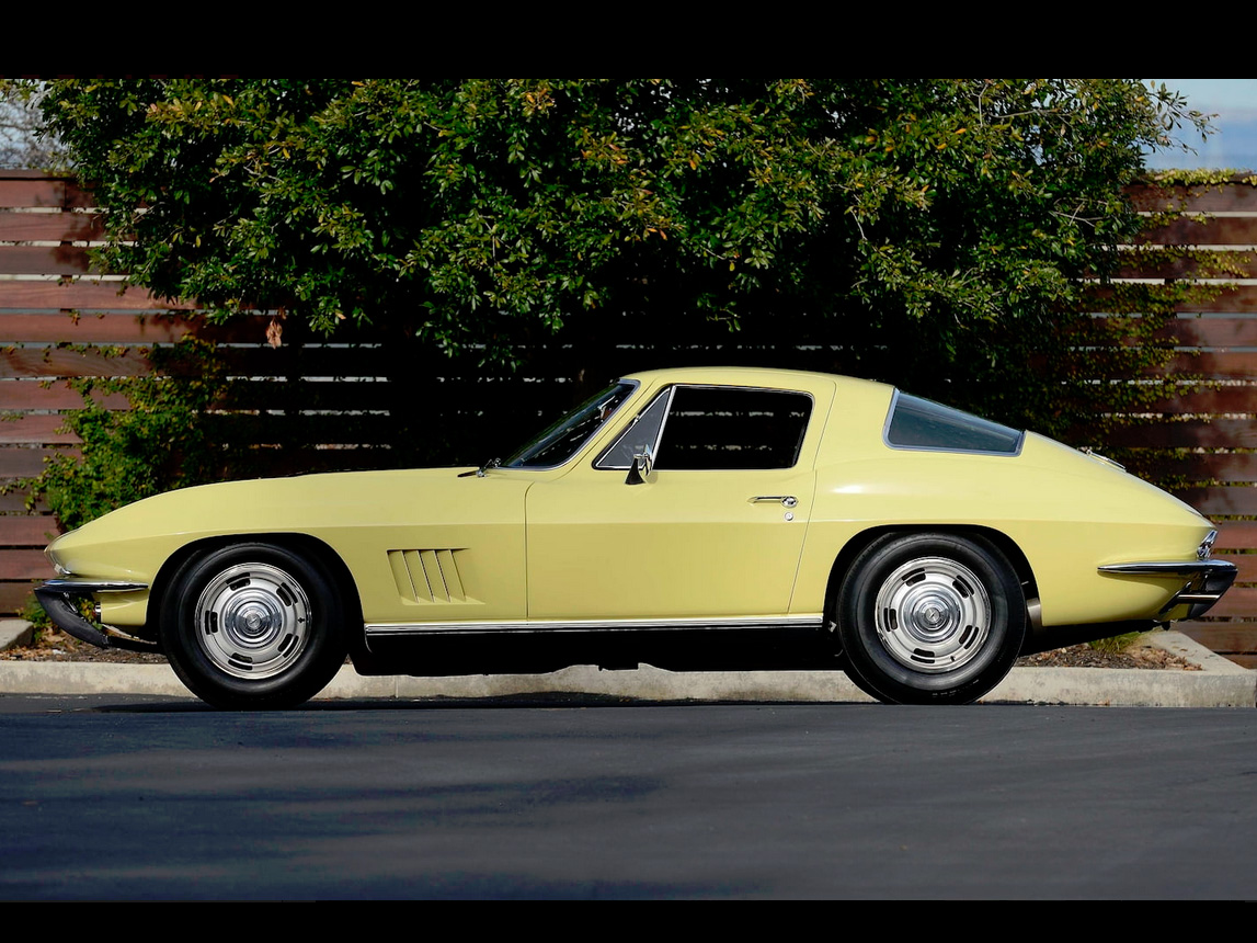 1967 yellow corvette l88 9