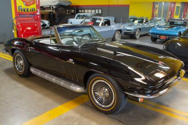 1966 black 427 corvette convertible 0755