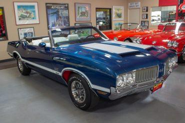 1970 blue 442 0851