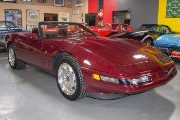 1993 corvette 40th anniv convertible 0859