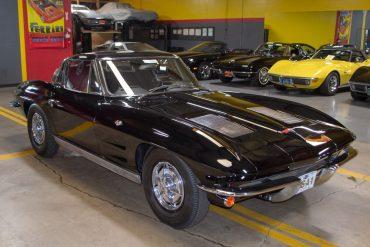 1963 black corvette swc 0272