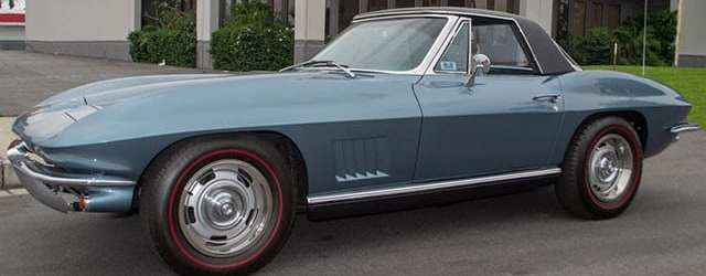 1967 Lynndale Blue Corvette Convertible