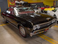 1967 black chevelle ss 396 coupe 0040