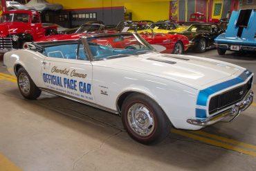 1967 camaro pace car 0546