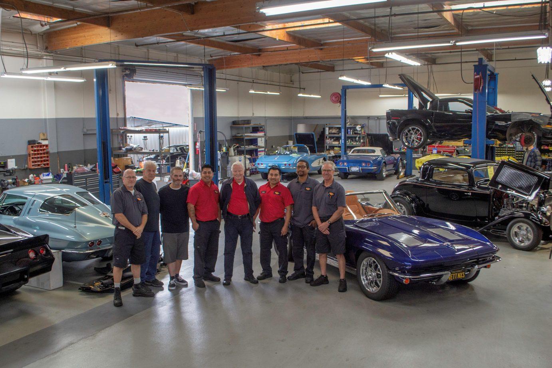 corvette mike service department edit