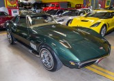 1969 green corvette l71 coupe 0211