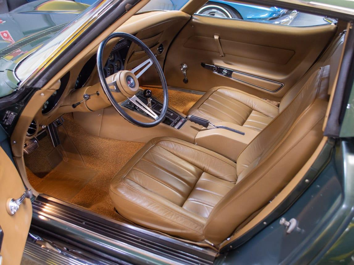 1969 green corvette l71 coupe 0229