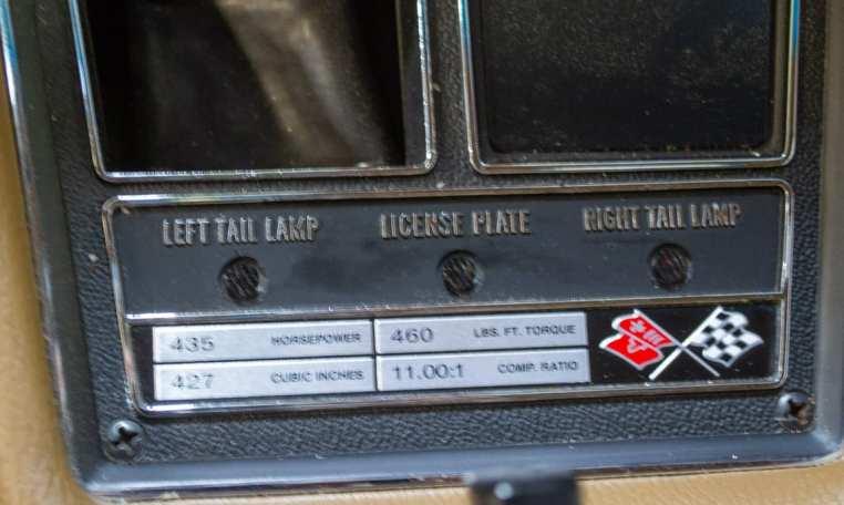 1969 green corvette l71 coupe 0239