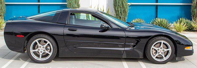 2004 Black Corvette Coupe