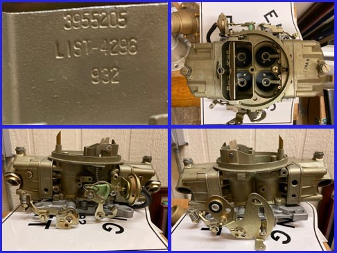 Corvette Fuel Injection 1957 parts