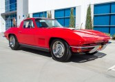 1967 rally red corvette l71 427 435 coupe 0671