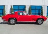 1967 rally red corvette l71 427 435 coupe 0680