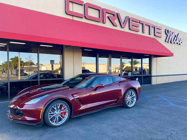 2016 red z06 coming
