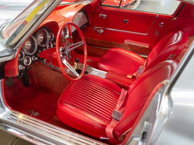 1963 300hp swc interior