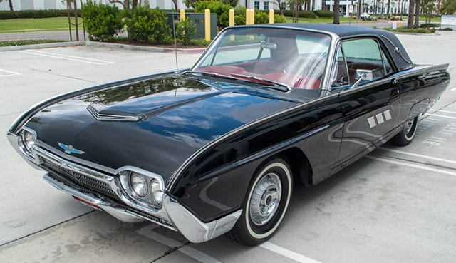 1963 black thunderbird coupe coming