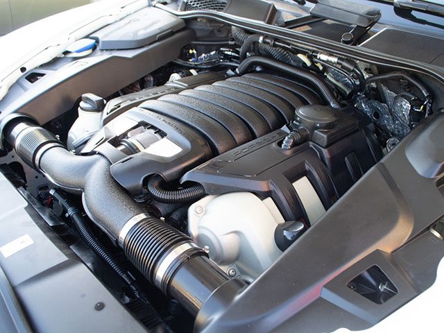 2013 white cayenne engine engine