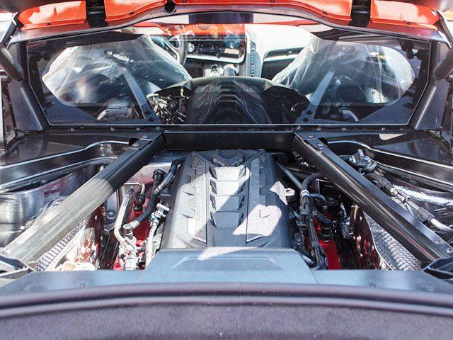 2020 Sebring Orange Z51 Corvette Engine