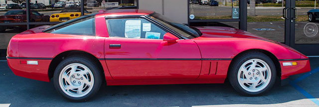 1990 red zr1 coming