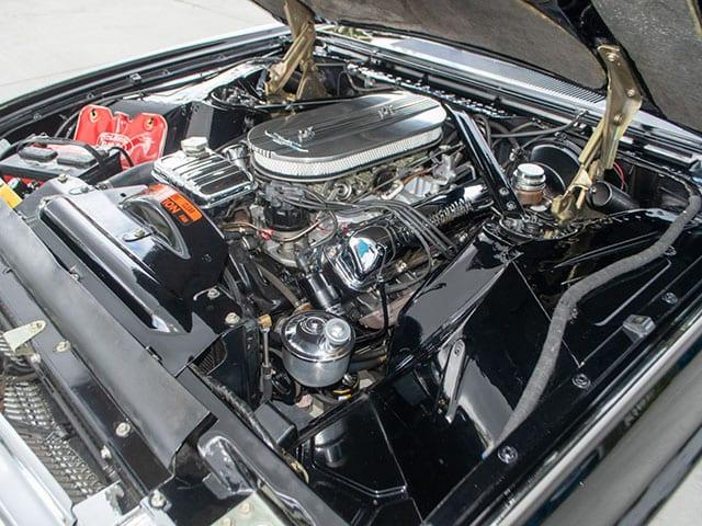 1963 Black Ford Thunderbird M Code Landau Hardtop Engine
