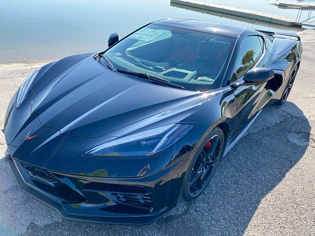 2020 C8 Corvette Black Red 3lt Z51 Coming