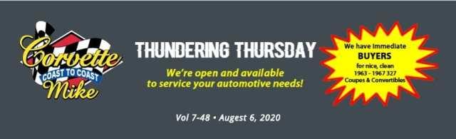 Thundering Thursday Aug 6