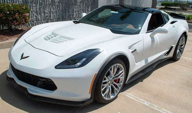 2016 white z06 3lz z07 coupe coming 2
