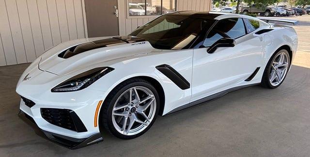 2019 corvette white zr 1 coming 1