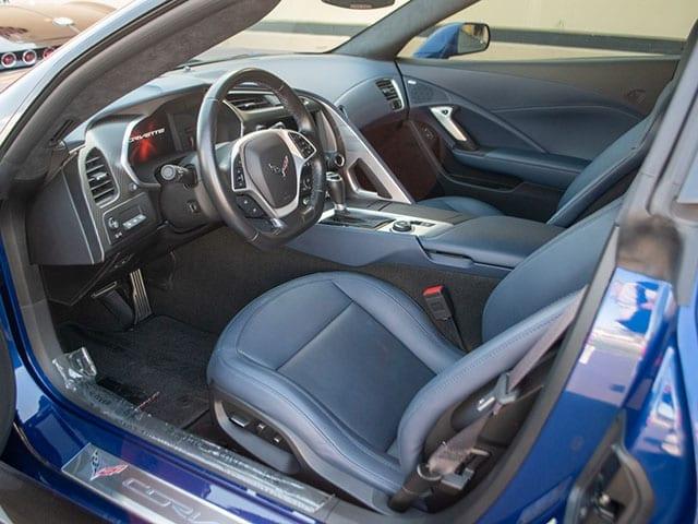 2017 blue grand sport corvette coupe 3lt z07 interior 1